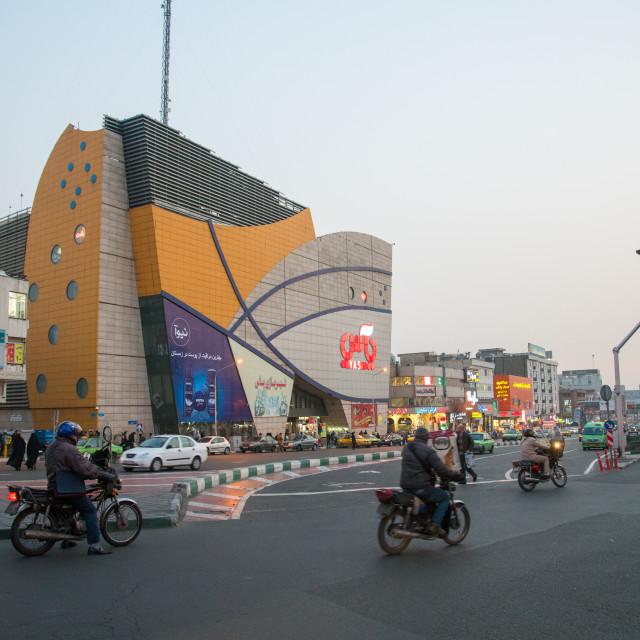 """yas city mall, Central district, Tehran, Iran"" stock image"