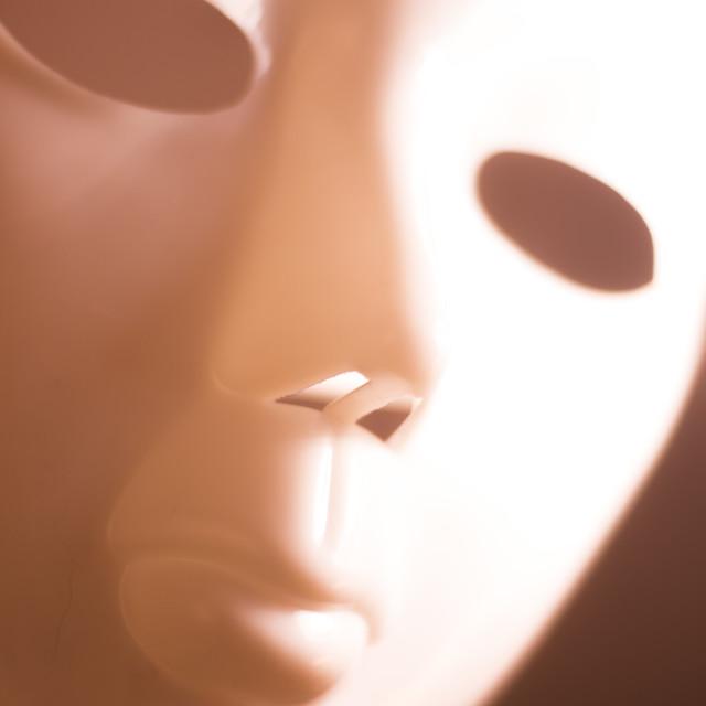 """Horror terror scary mask"" stock image"