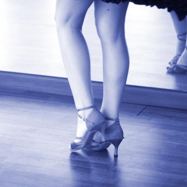 """Ballroom dance dancer"" stock image"