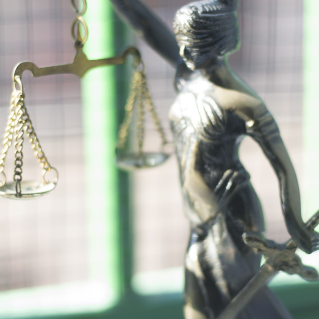 """""""Legal law firm statue"""" stock image"""