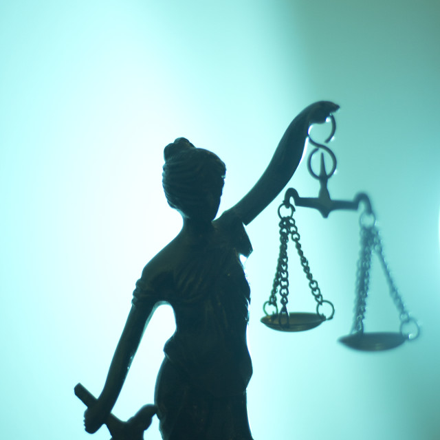"""""""Legal justice law statue"""" stock image"""
