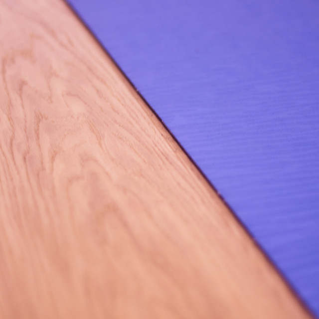 """Yoga pilates studio mat"" stock image"