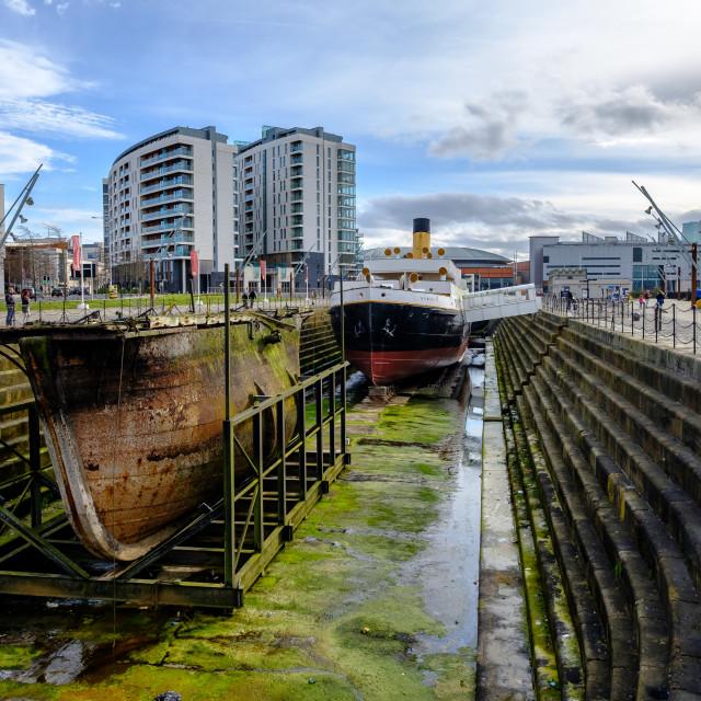 """""""Dry Dock."""" stock image"""