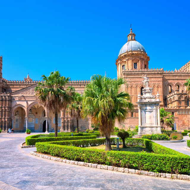 """""""Cathedral of Palermo, Sicily, Italy"""" stock image"""