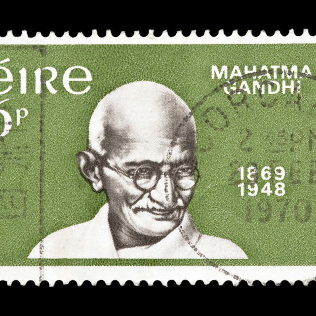 """Mahatma Gandhi"" stock image"