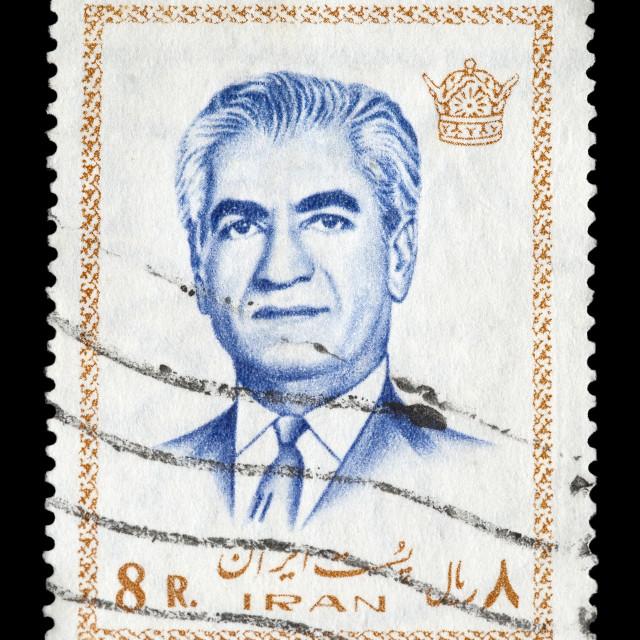 """Shah of Iran"" stock image"