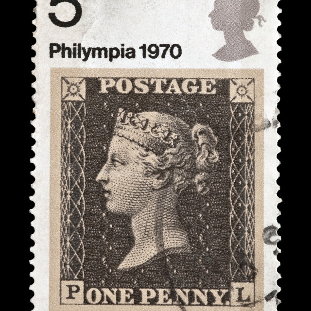"""penny black"" stock image"