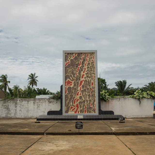 """""""Benin, West Africa, Ouidah, memorial on the slave trail"""" stock image"""