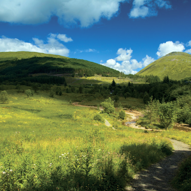 """Tyndrum"" stock image"