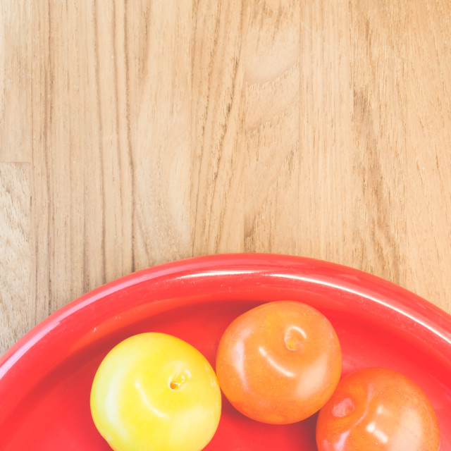 """""""plums - fresh fruits backgrounds"""" stock image"""