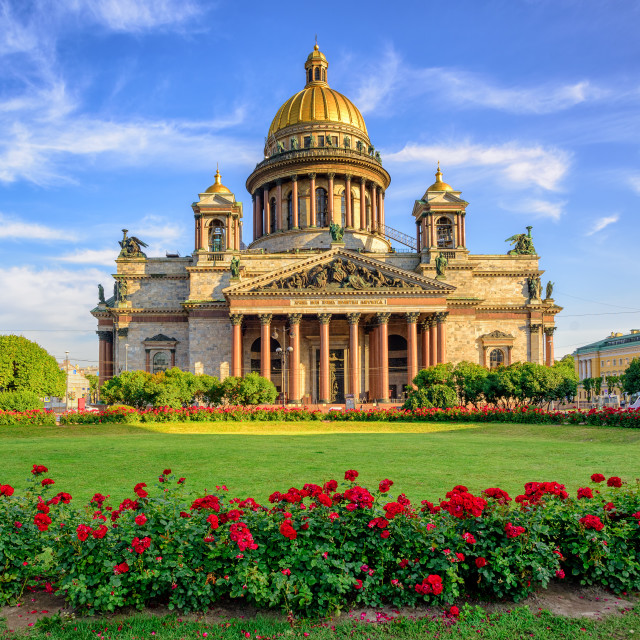 """St Isaac cathedral, Saint Petersburg, Russia"" stock image"
