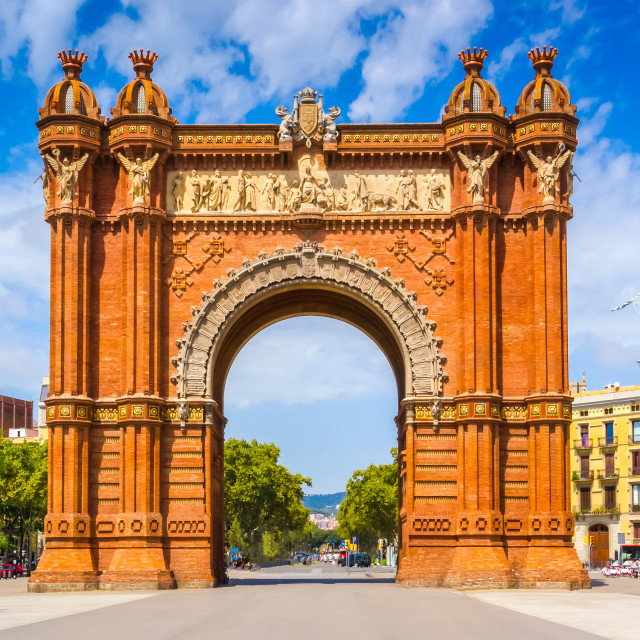 """Arc de Triomphe"" stock image"
