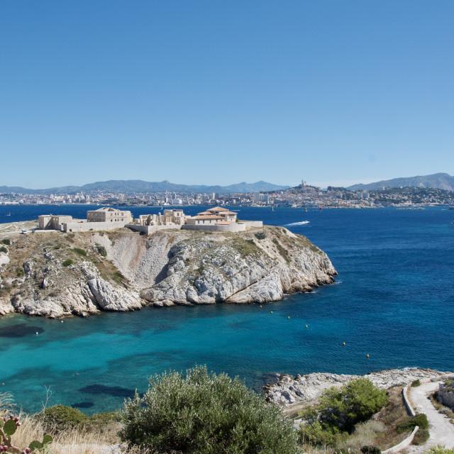 """Beautiful Marseille"" stock image"