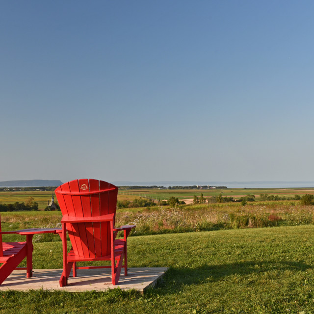 """Grand Pre Winery Outlook"" stock image"