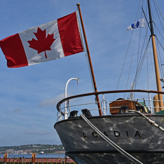 """Halifax Waterfront"" stock image"