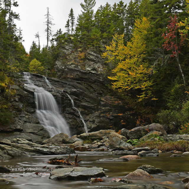 """Laverty Falls"" stock image"
