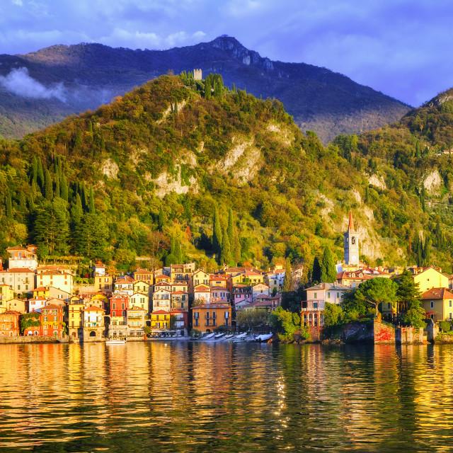 """""""Menaggio, Como Lake, Italy"""" stock image"""