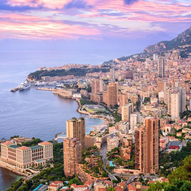 """Monte Carlo, Monaco"" stock image"
