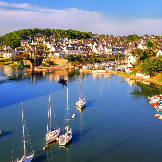 """Morbihan, Brittany, France"" stock image"