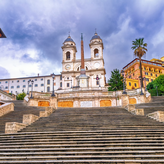 """Spanish Steps, Rome, Italy"" stock image"