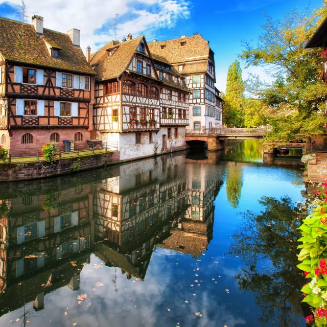 """La Petite France, Strasbourg, France"" stock image"