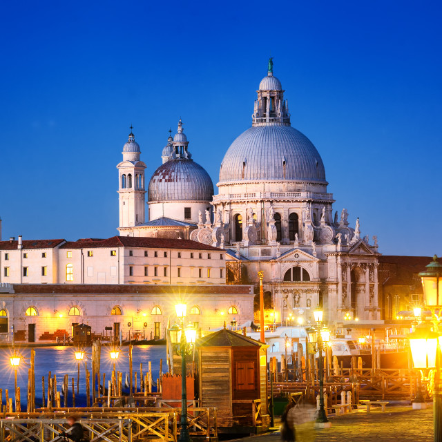"""""""Santa Maria della Salute, Venice, Italy"""" stock image"""