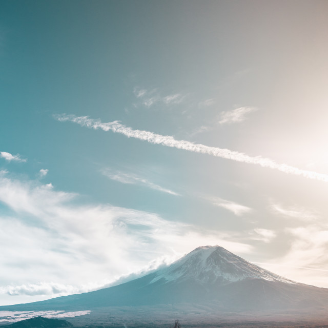 """Mount Fuji"" stock image"