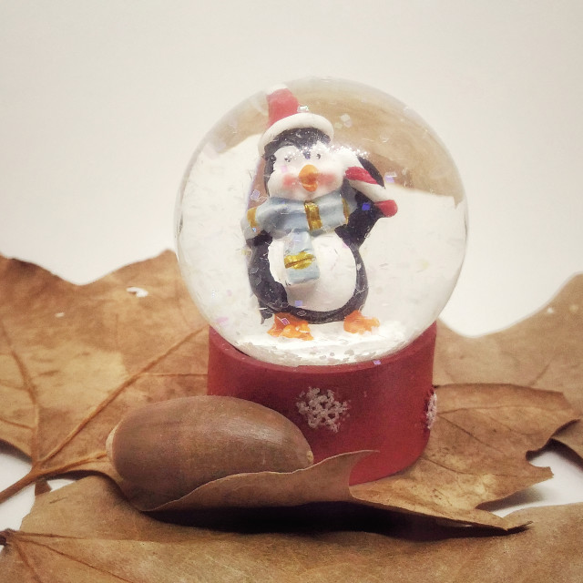 """""""Christmas Cristal Ball Decoration"""" stock image"""