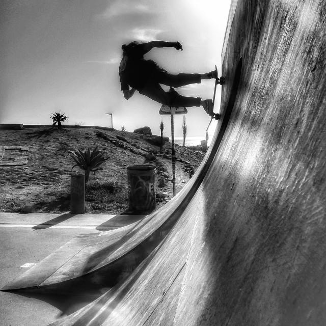 """Skate Ramp"" stock image"