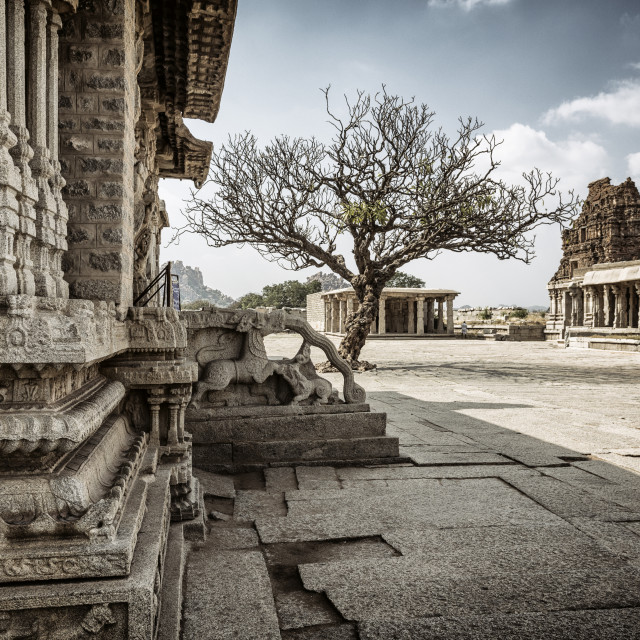 """""""The Temples of Hampi"""" stock image"""
