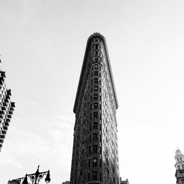 """New York VI - Iron Building"" stock image"