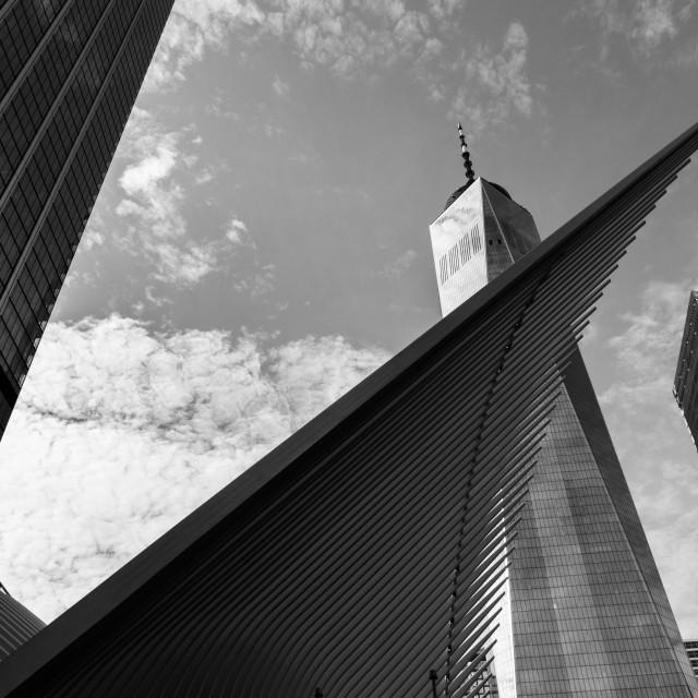 """New York XIII - One World Trade Center"" stock image"