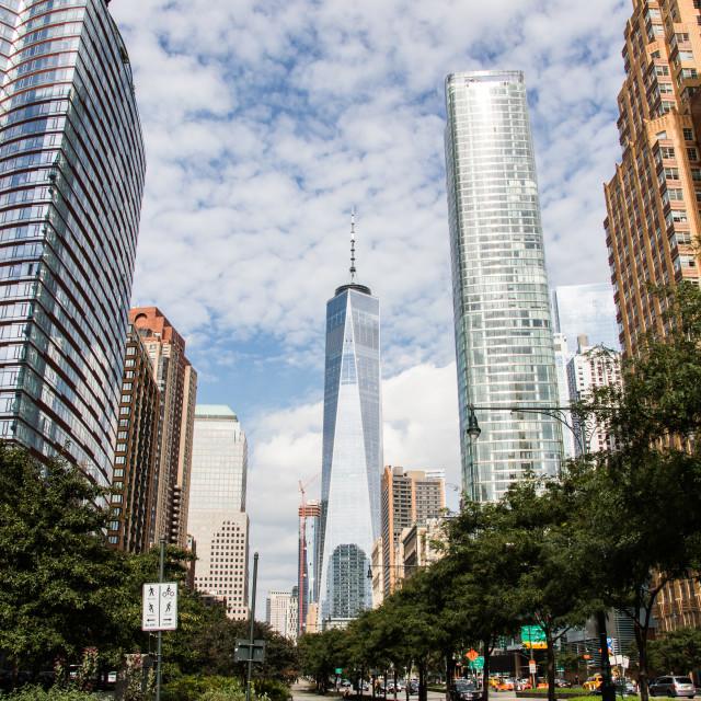 """""""New York XV"""" stock image"""