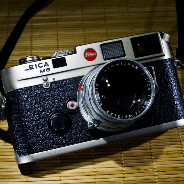 """Leica M6"" stock image"
