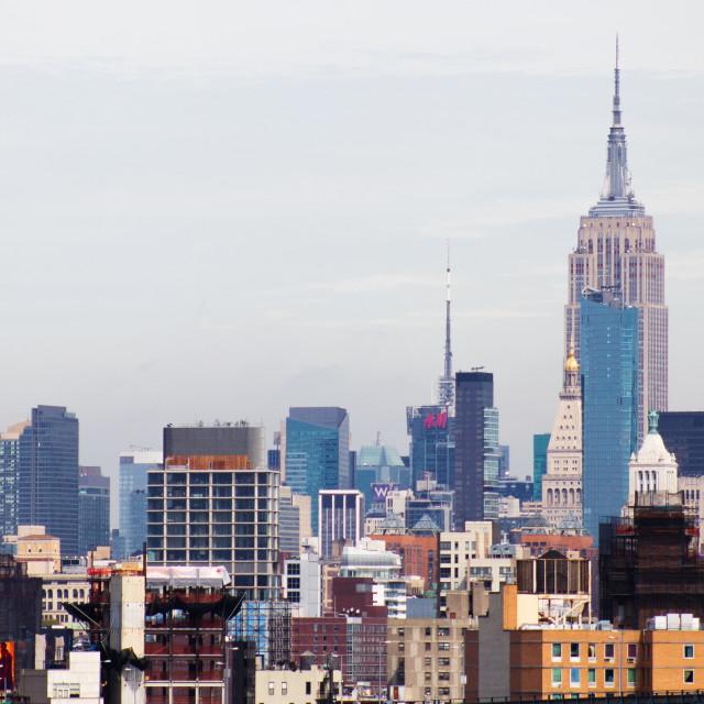 """""""New York XXXVI"""" stock image"""