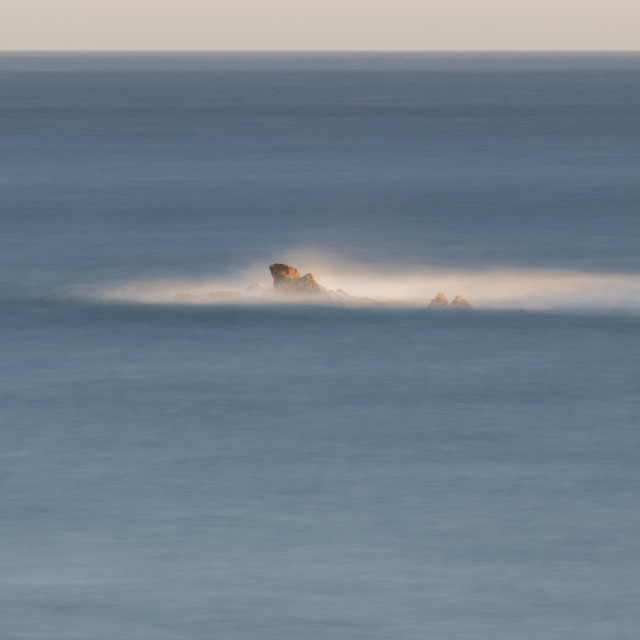 """Nice detail of the Spanish coast in Costa Brava, La Fosca"" stock image"
