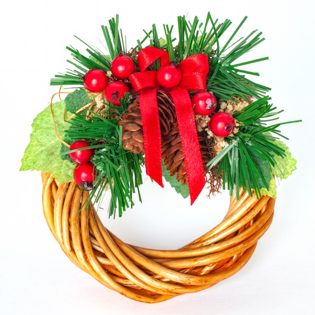 """Beautiful advent wreath s ornament for the house"" stock image"