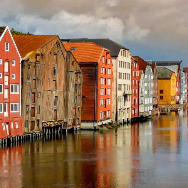 """Trondheim"" stock image"