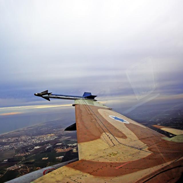 """""""IAF F-16 Fighter jet"""" stock image"""