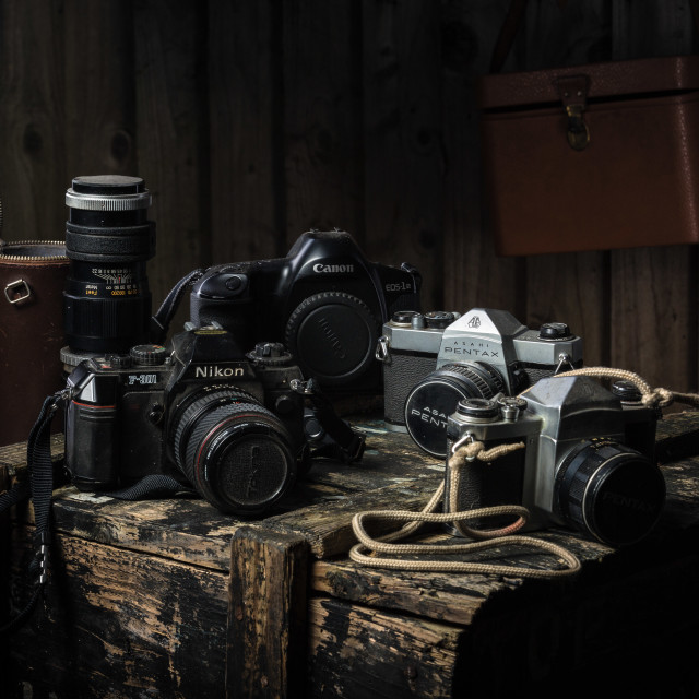 """Old Gear"" stock image"
