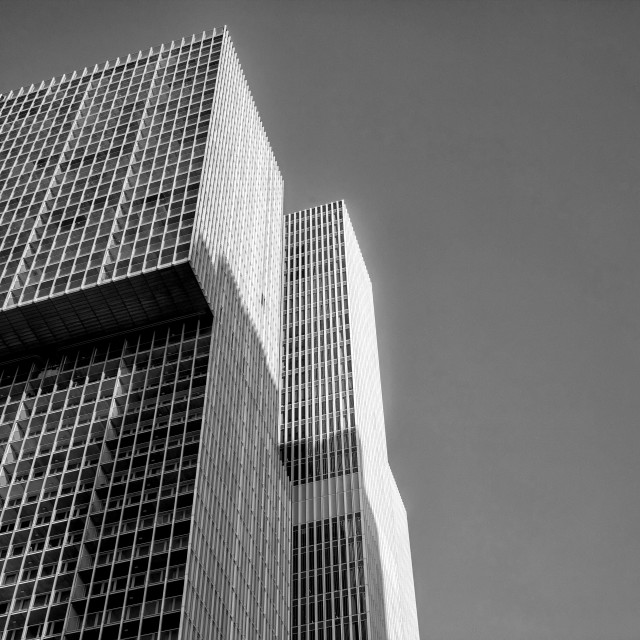 """Skyscraper in Rotterdam"" stock image"
