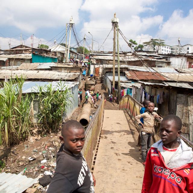 """Mathare XV"" stock image"