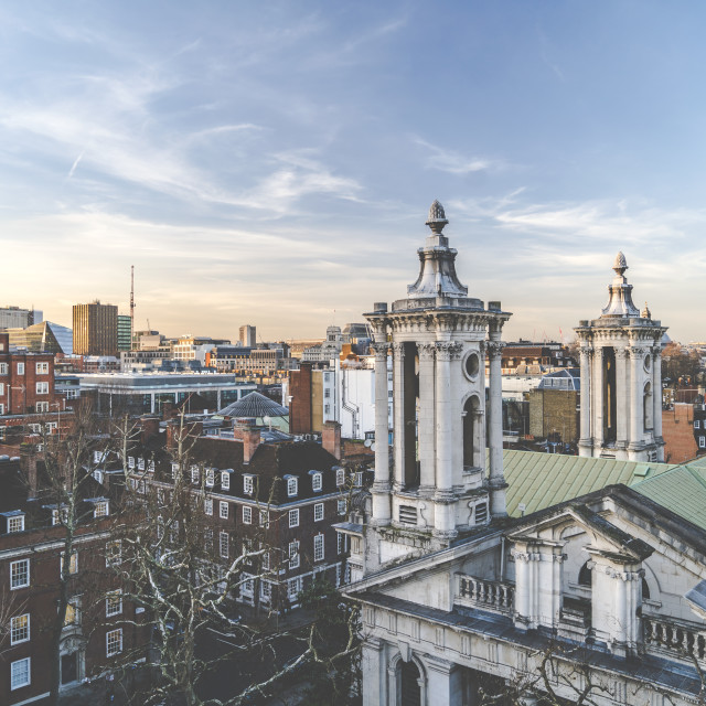 """Smith Square London"" stock image"