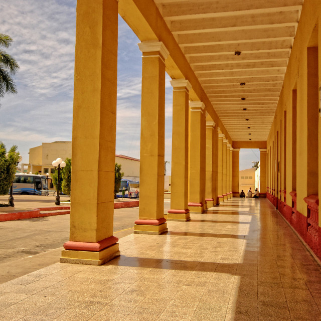 """Plaza Mayor in Trinidad, Cuba"" stock image"