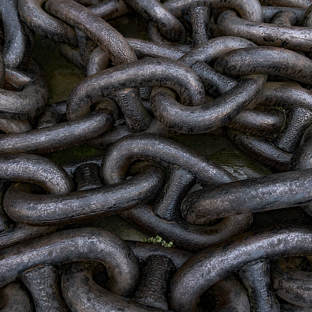 """Chains"" stock image"