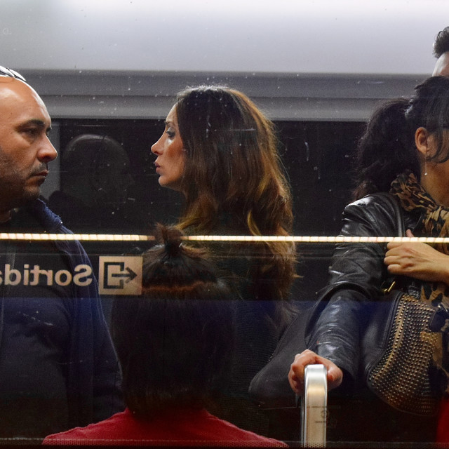 """Barcelona Subway"" stock image"