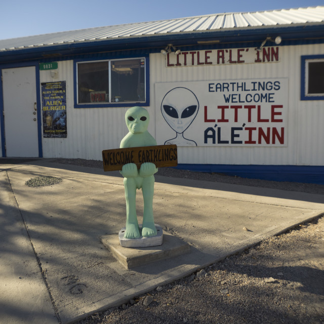 """Little Al E Inn"" stock image"