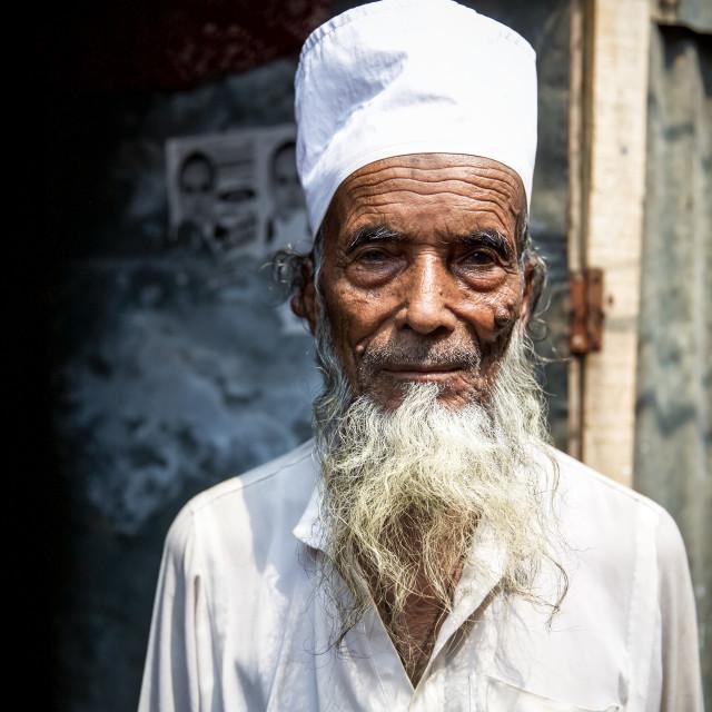 """""""Slum in Dhaka IX"""" stock image"""