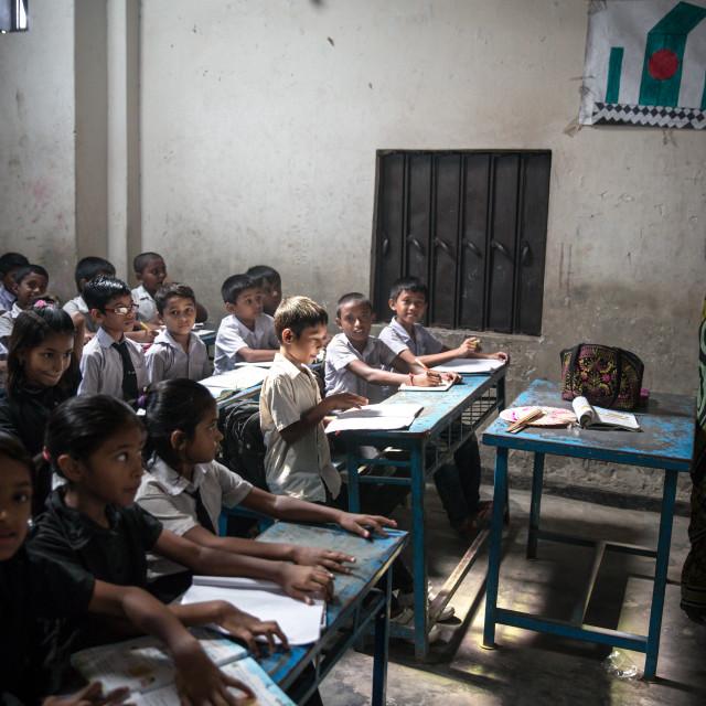 """School in Bangladesh V"" stock image"