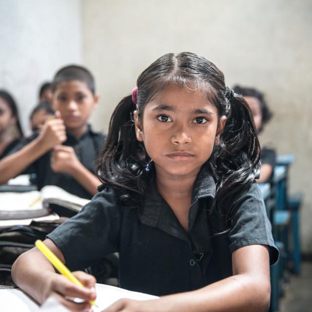 """School in Bangladesh VII"" stock image"